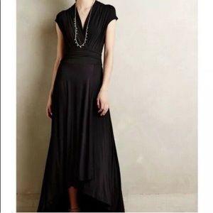 Anthropologie Maeve Black Desert Star Maxi Dress